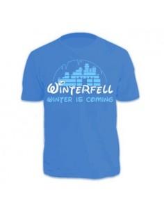 Camiseta Winterfell  (Azul...