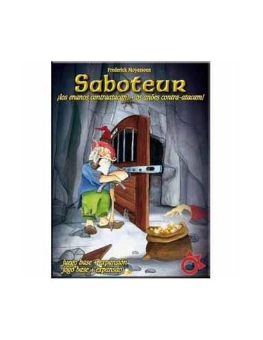 Saboteur Deluxe: Básico + Expansión