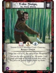 Toku Saiga, the Metal Storm
