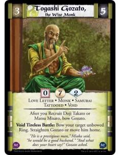 Togashi Gozato, the Wise Monk
