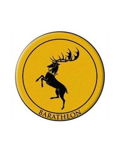 Parche Baratheon - Emblema Bordado