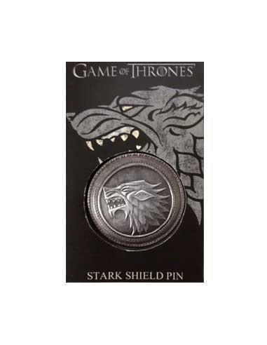 Pin Escudo Stark Metálico
