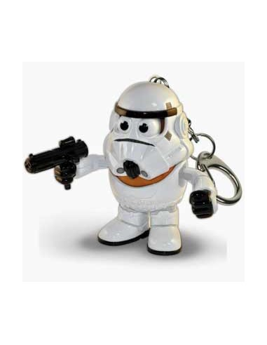 Mr. Potato Stormtrooper Keychain