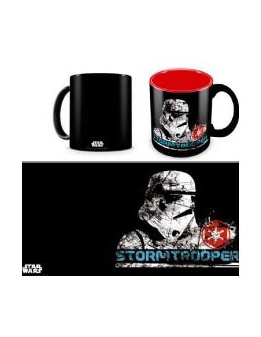 Taza Star Wars Stormtrooper Black