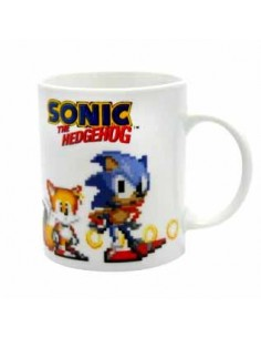 Taza Sonic Pixeles 320ml