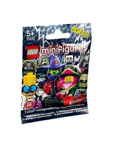 Lego Minifiguras Monsters series 14