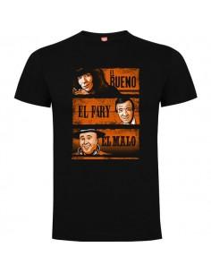 Camiseta El Bueno El Fary y El Malo