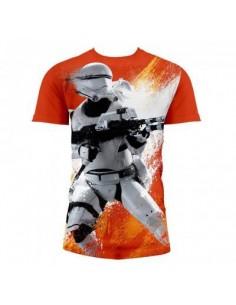 T-Shirt Star Wars Flametrooperar