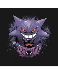 Camiseta Gengar Evolution