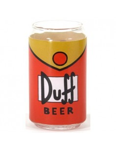 Vaso cristal Cerveza Duff