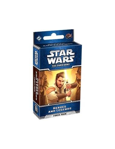 Star Wars LCG: Force Pack 07:Heroes y Leyendas (inglés)