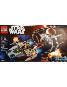 Lego TIE Advanced vs A Wing: 75150