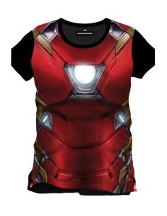 Camiseta Iron Man Traje. Civil War