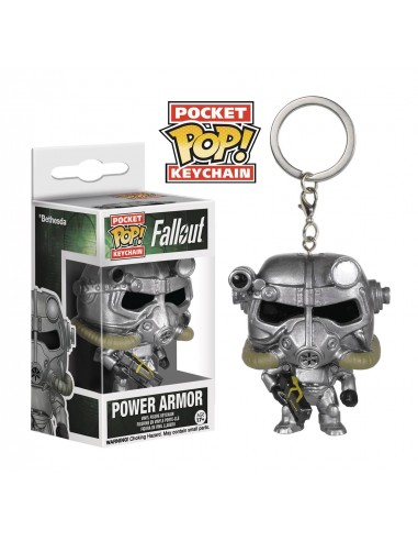Keychan Pocket Pop Power Armor. Fallout