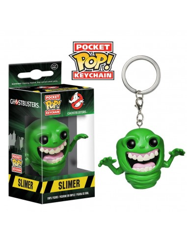 Keychan Pocket Pop Slimer. Ghostbuster