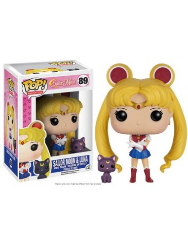 Funko Pop Sailor Moon & Luna. Sailor Moon