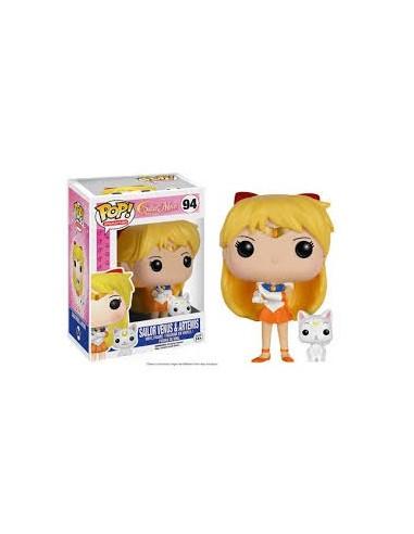 Funko Pop Sailor Venus & Artemis. Sailor Moon