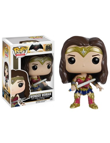 Funko Pop Wonder Woman. Batman VS Superman DC