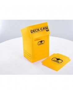 Deck Box Ultimate Guard 80+ Amarillo