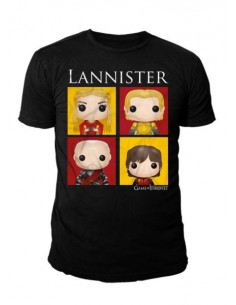 Camiseta Lannister Bling Art