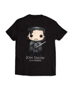 Camiseta Jon Nieve Bling Art