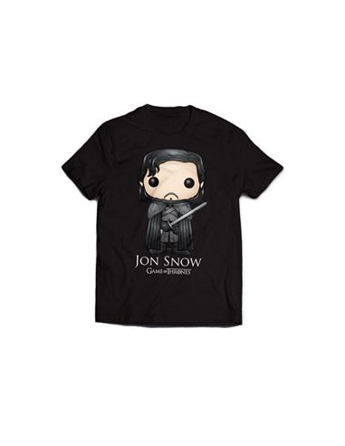 T-Shirt Jon Snow Bling Art