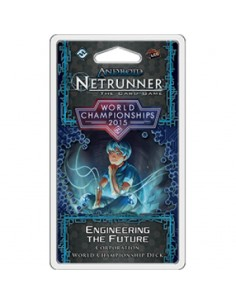 Netrunner LCG. World Cahmpionships 2015. Engineering the future. Corporation