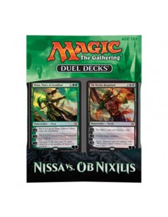 Magic Duel Decks. Nissa vs Ob Nixilis