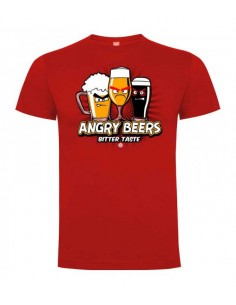 T-shirt Angry Beers