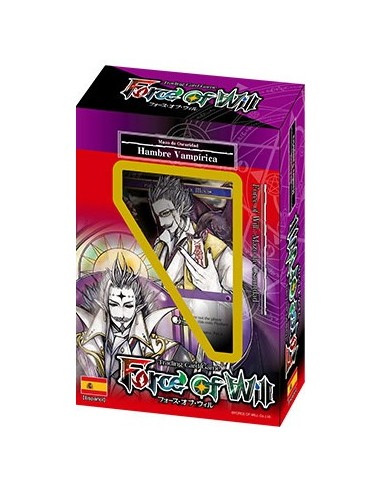 Force of Will Trial Deck Hambre Vampirica
