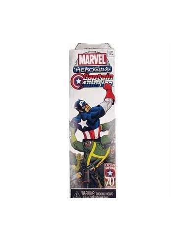 Marvel Heroclix Captain America Booster