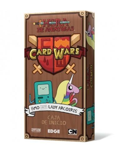 Card Wars Hora de Aventuras. BMO VS Lady Arcoiris