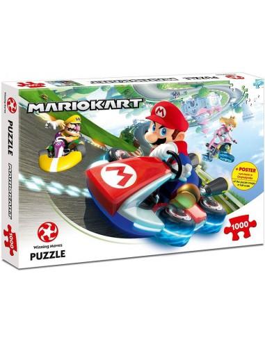 Puzzle Mario Kart 1000 piezas