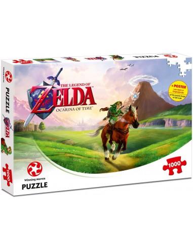 Puzzle Zelda Ocarina of Time 1000 piezas