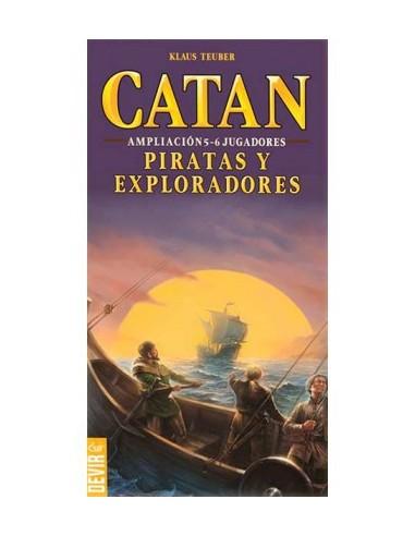 Los Colonos de Catan: Piratas y Exploradores Exp. 5 y 6 jugadores
