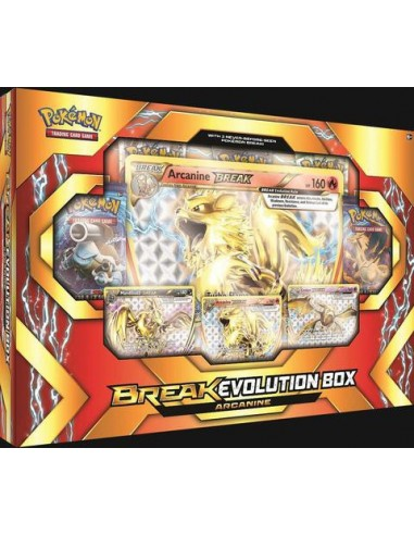 Pokemon Tcg: Break Evolution Box Arcanine