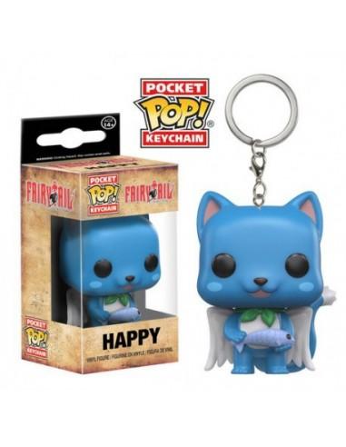 Pop Keychain Happy. Fairy Tail