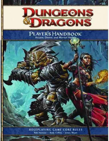 D&D: 4TH Edition Player's Handbook