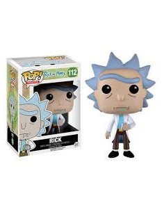 Pop Rick. Rick & Morty.