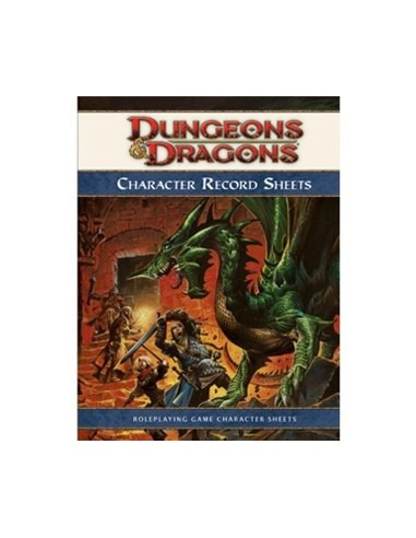 D&D: 4TH Character Record Sheets