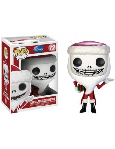 Pop Santa Jack Skellington. Nightmare before Christmas