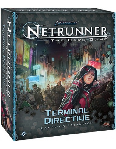 Netrunner LCG: Terminal Directive Campaign Expansion