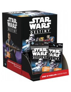 Star Wars Destiny: Spirit of Rebellion. Booster Display (36)