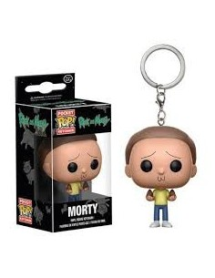 Llavero Pop Morty. Rick y Morty