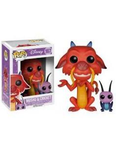 Pop Mushu & Cricket . Disney Mulan