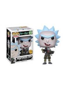 Pop Rick armado Chase. Rick y Morty