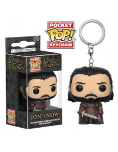 Pop Keychain Jon Snow with Scars . Game of Thrones