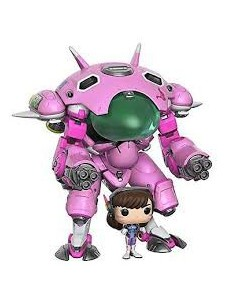 Pop D.Va with Meka . Overwatch