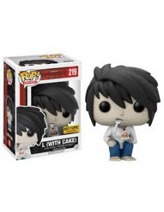 Pop L with Cake . Death Note