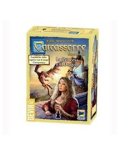 Carcassonne : La Princesa y el Dragon